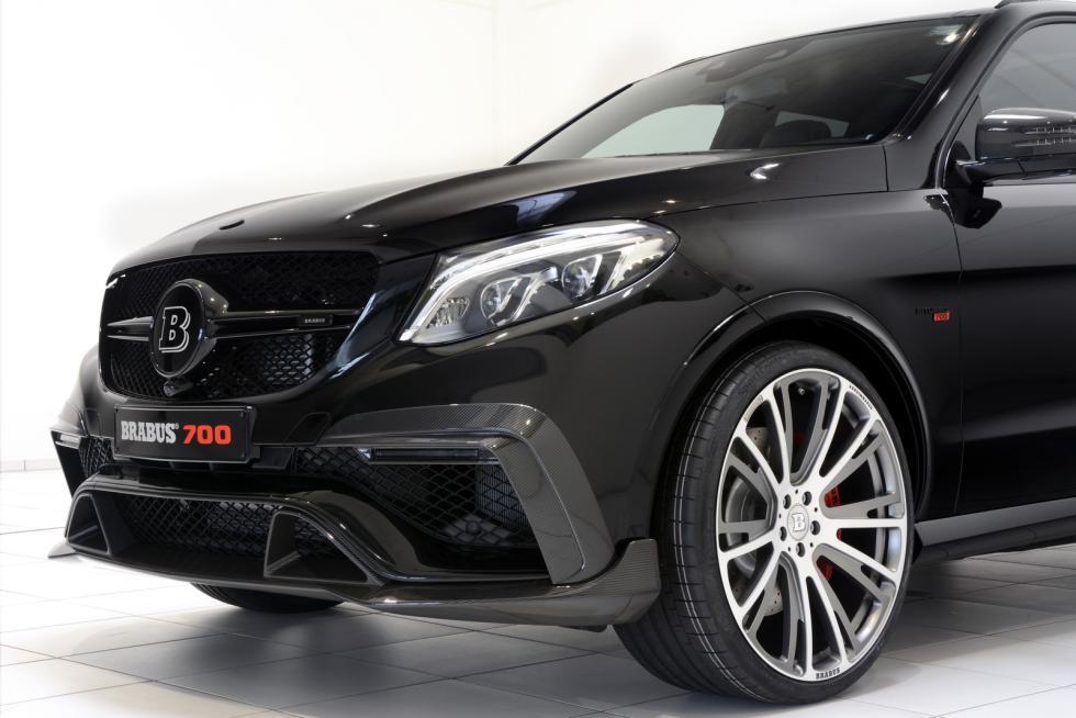 Mercedes-AMG GLE 63 by Brabus morro