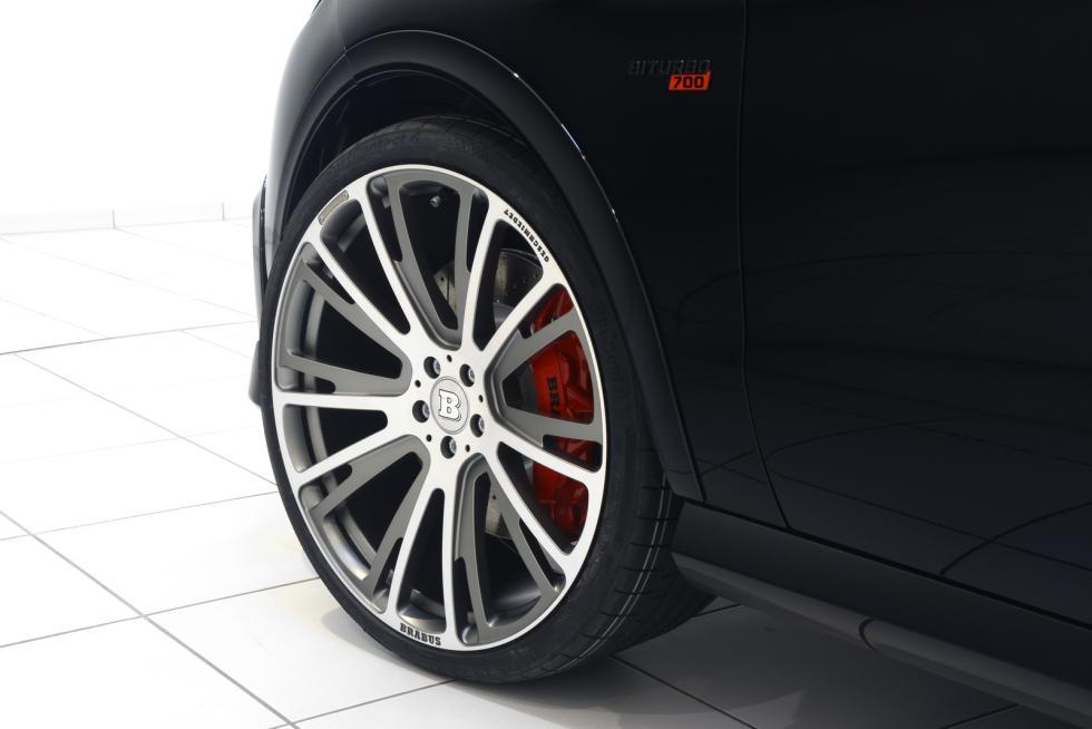 Mercedes-AMG GLE 63 by Brabus llanta