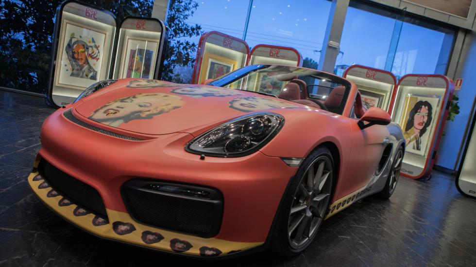 exposición andy warhol Porsche
