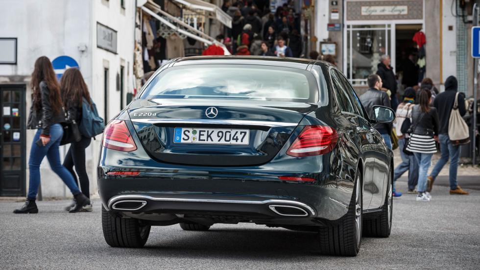 línea clásica del Mercedes clase E
