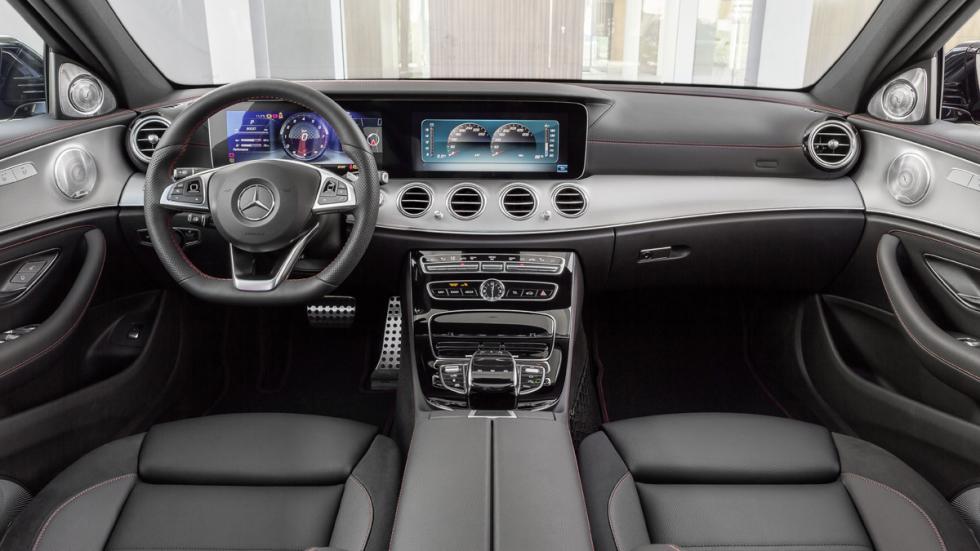 Mercedes-AMG E43 4Matic habitáculo