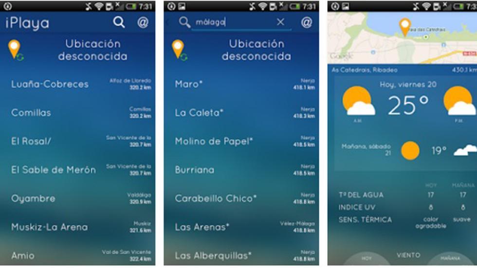 iplaya app playas
