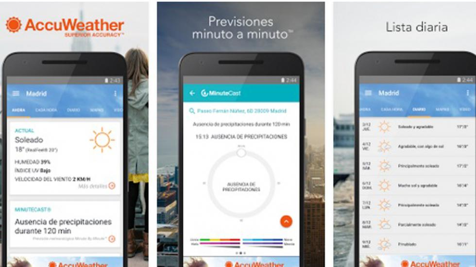 accuweather tercera app
