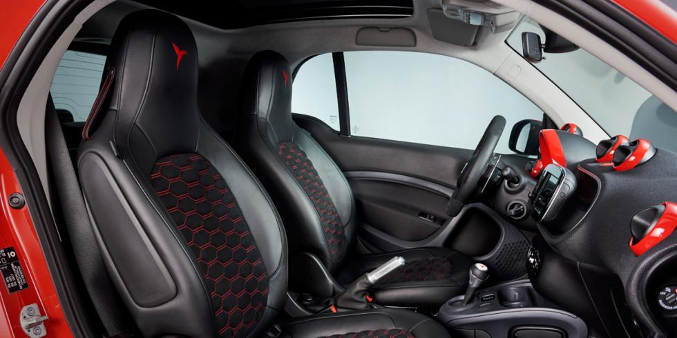 smart Ushuaïa Limited Edition 2016 interior