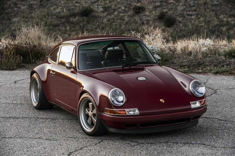Porsche 911 de Singer Vehicle Design tres cuartos delanteros
