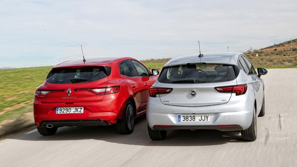 Opel Astra y Renault Megane