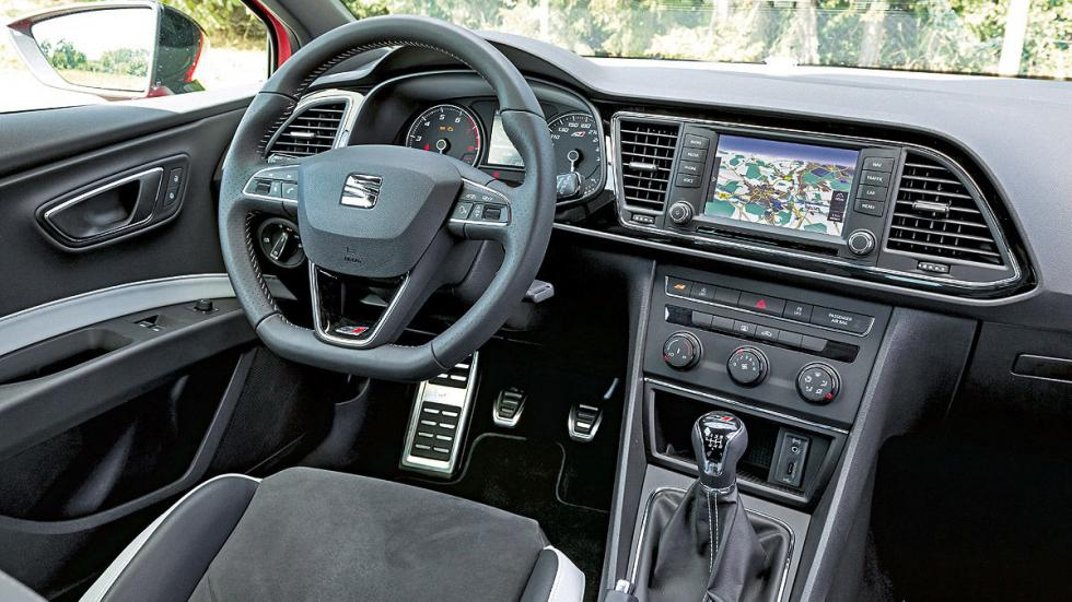 Comparativa radical: Civic Type R/Mégane RS/Leon Cupra 19