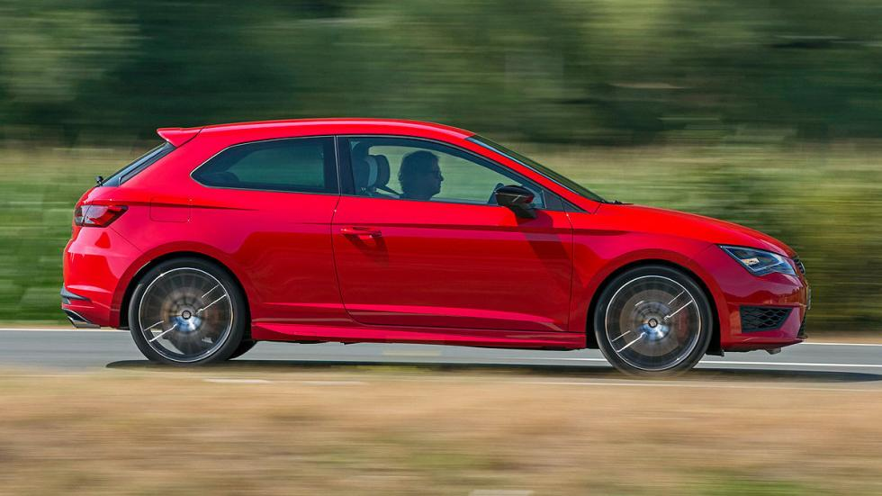 Comparativa radical: Civic Type R/Mégane RS/Leon Cupra 22