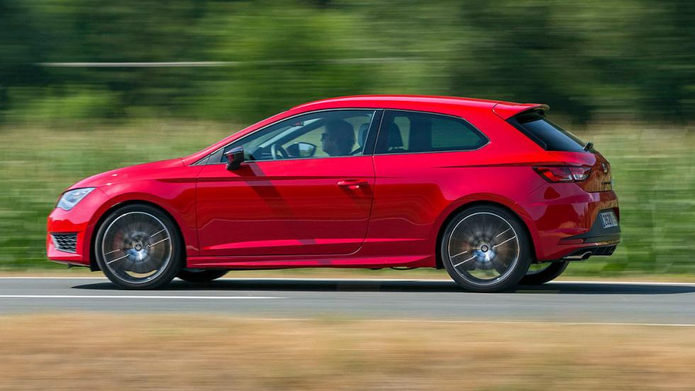 Comparativa radical: Civic Type R/Mégane RS/Leon Cupra 25