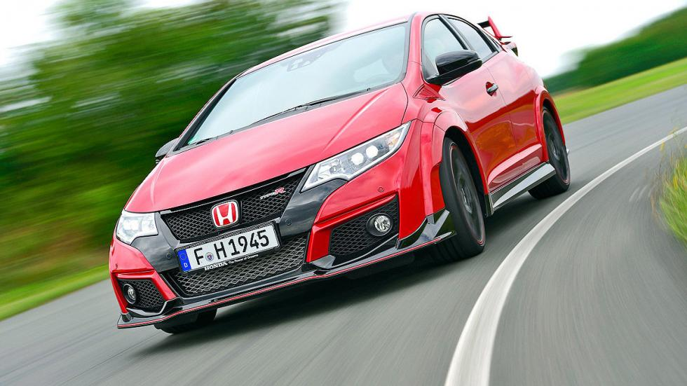 Comparativa radical: Civic Type R/Mégane RS/Leon Cupra 27