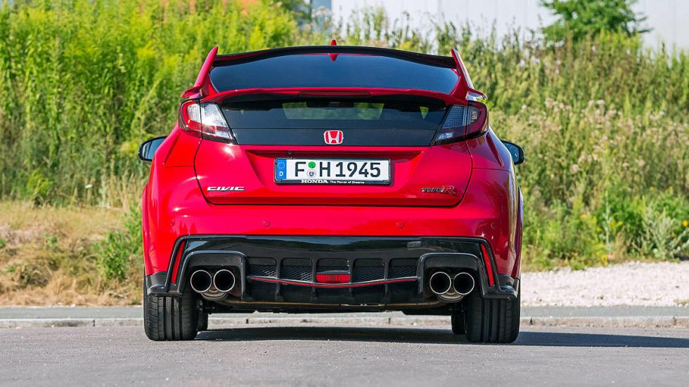 Comparativa radical: Civic Type R/Mégane RS/Leon Cupra 29