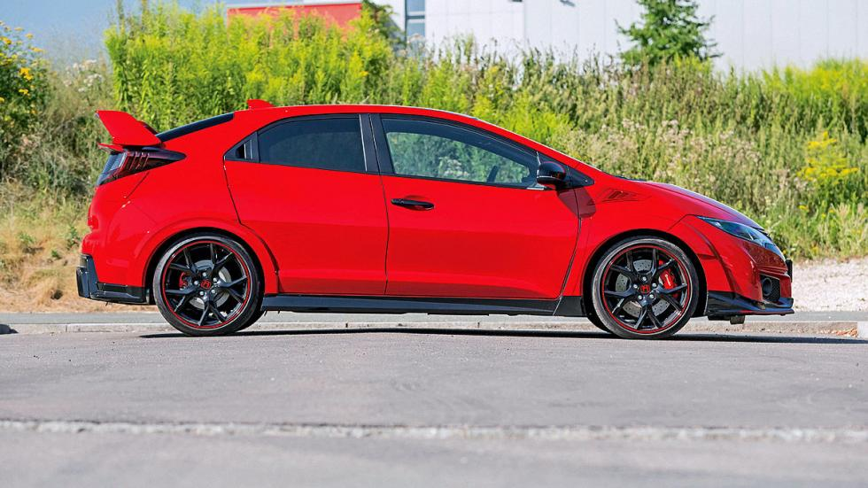 Comparativa radical: Civic Type R/Mégane RS/Leon Cupra 31