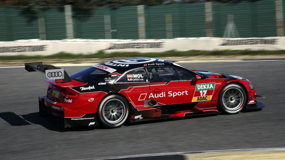 copilotaje Audi RS 5 DTM Miguel Molina