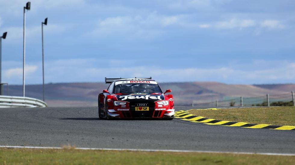 Fotos copilotaje Audi RS 5 DTM Miguel Molina