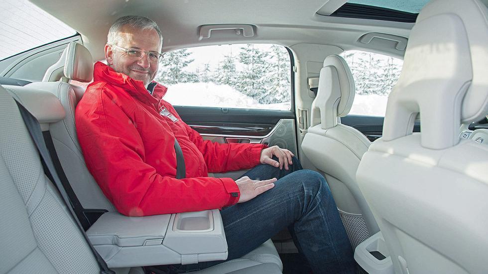 Prueba: Volvo S90 interior traseras