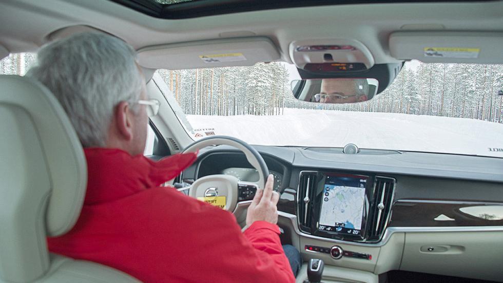 Prueba: Volvo S90 interior volante