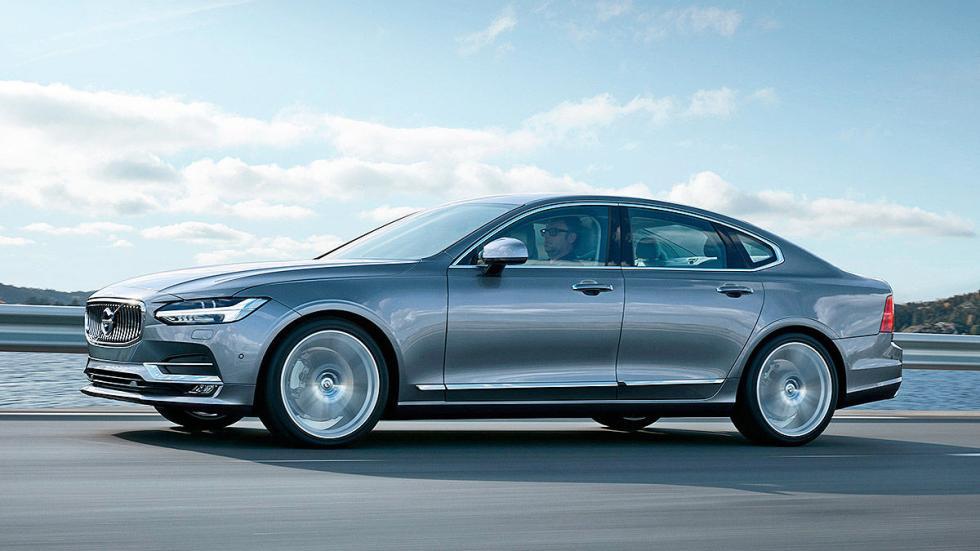 Prueba: Volvo S90 lateral
