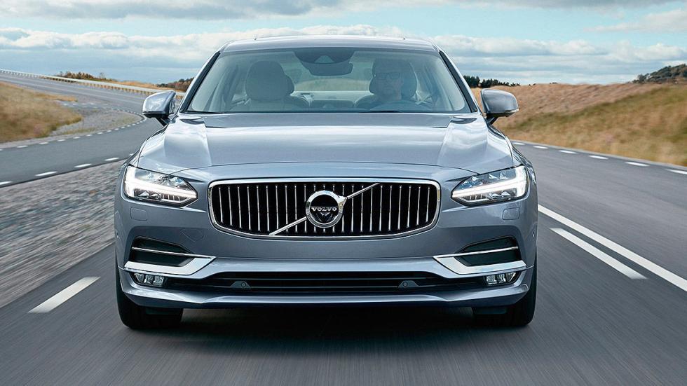 Prueba: Volvo S90 morro