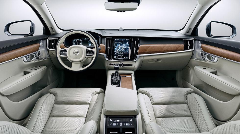 Prueba: Volvo S90 salpicadero