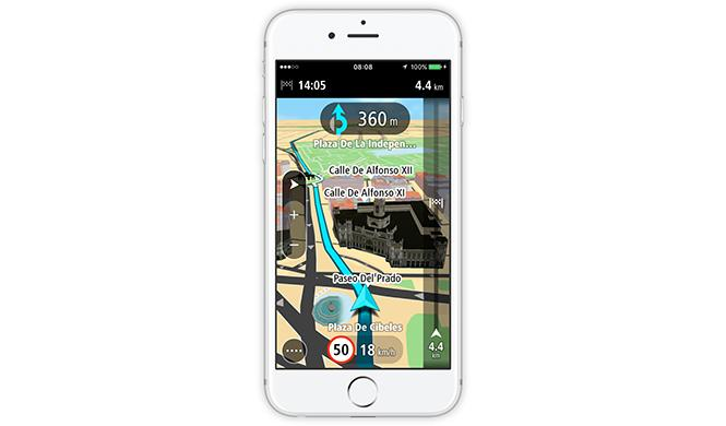 GO Mobile app iPhone TomTom 4