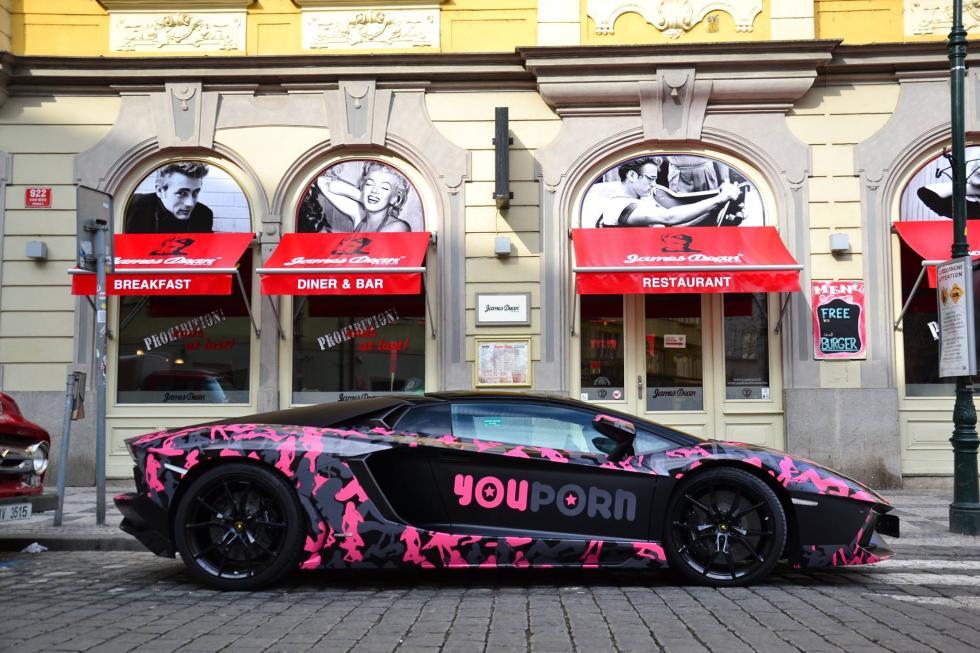 Lamborghini YouPorn lateral