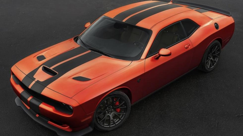 Dodge Challenger SRT Go Mango