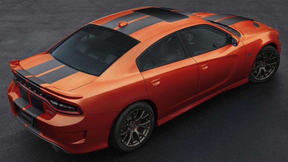 Dodge Charger SRT Go Mango trasera