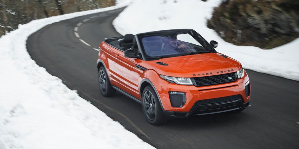 range rover Evoque Convertible descapotable