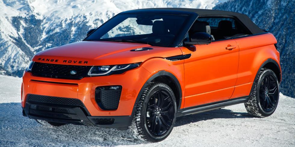 Range Rover Evoque Convertible capotado