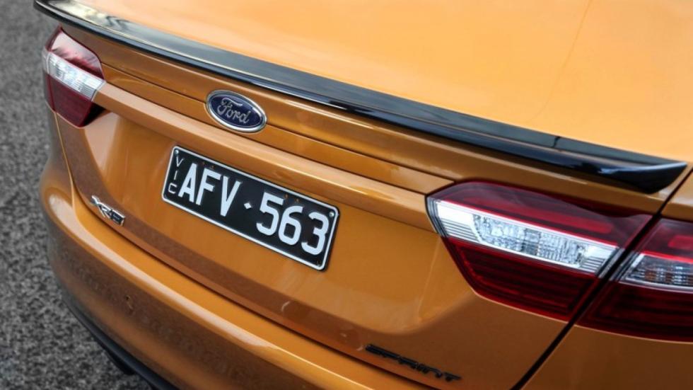Ford Falcon Sprint trasera