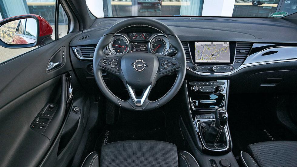 Prueba Opel Astra ST 2016 volante