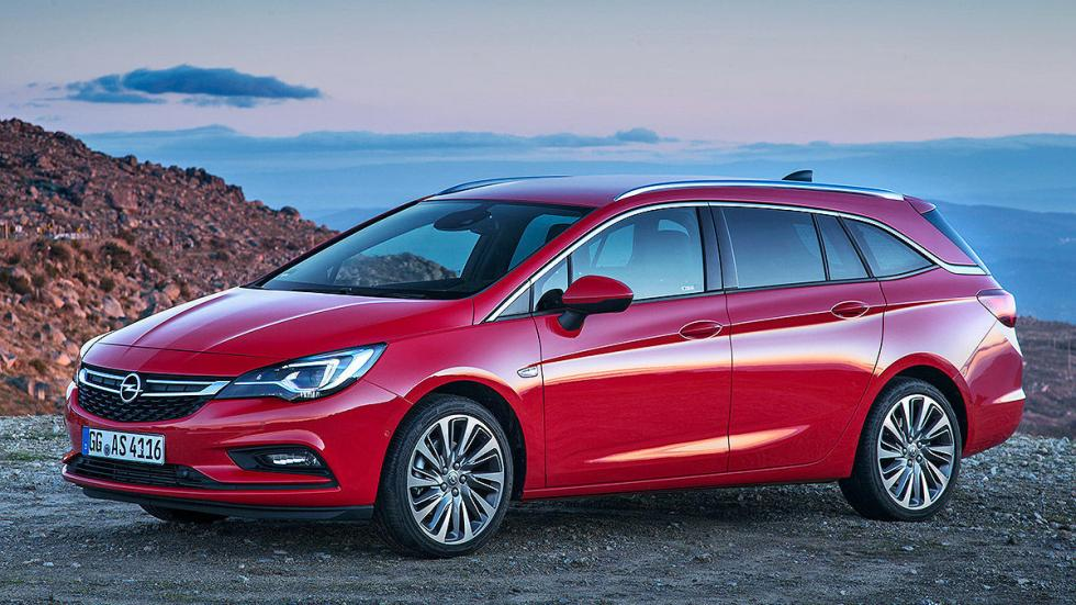 Prueba Opel Astra ST 2016 3 cuartos