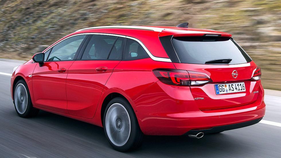 Prueba Opel Astra ST 2016 3 cuartos zaga