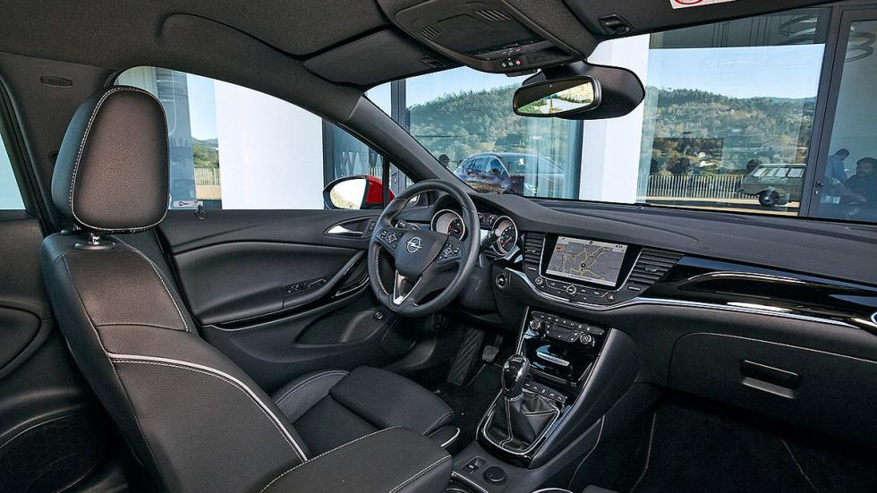 Prueba Opel Astra ST 2016 asientos