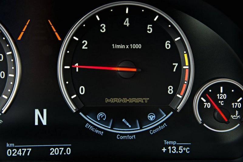 BMW X6 M by Manhart detalle
