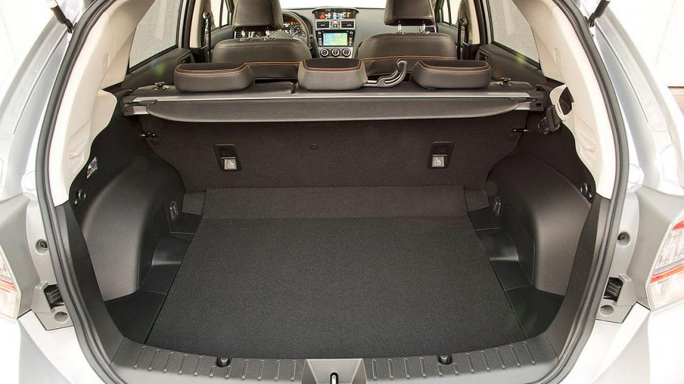 Prueba: Subaru Impreza FL 2016 maletero