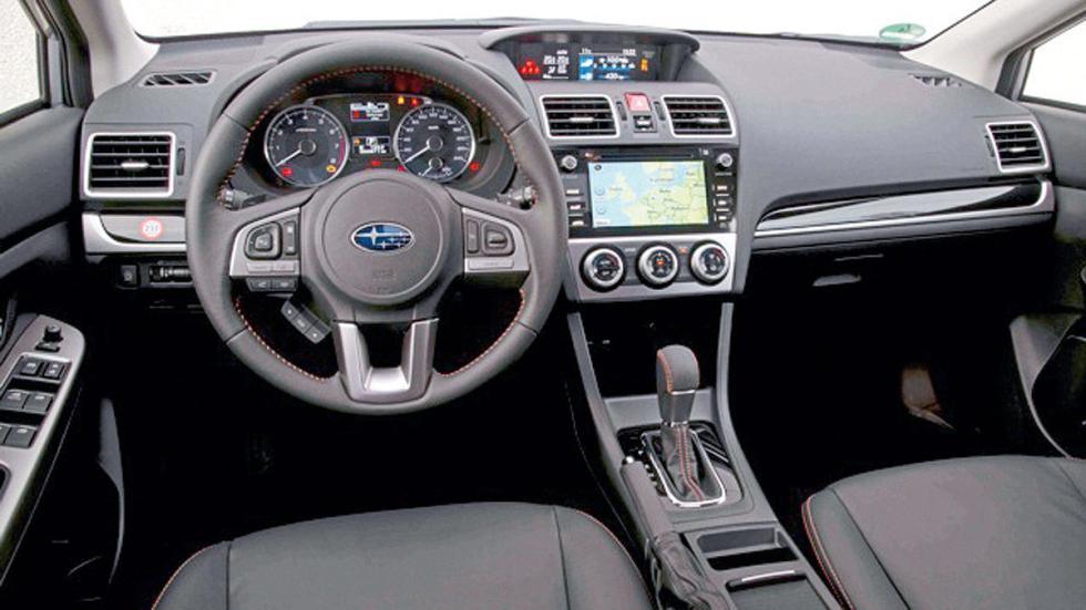 Prueba Del Subaru Impreza Fl 2016