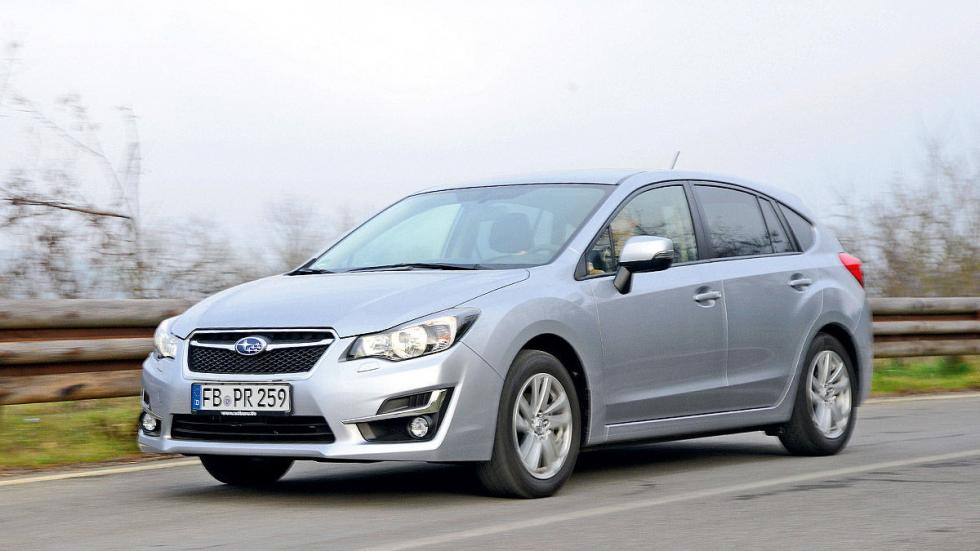 Prueba: Subaru Impreza FL 2016 barrido morro
