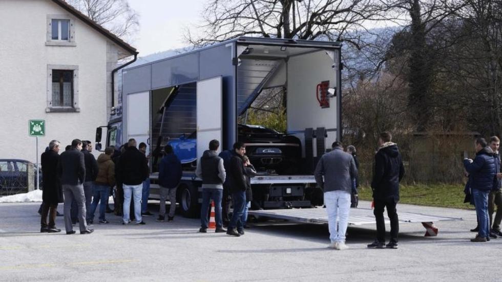 Bugatti Chiron y Parmigiani Fleurier 1
