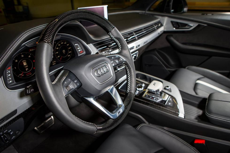 Audi SQ7 ABT interior