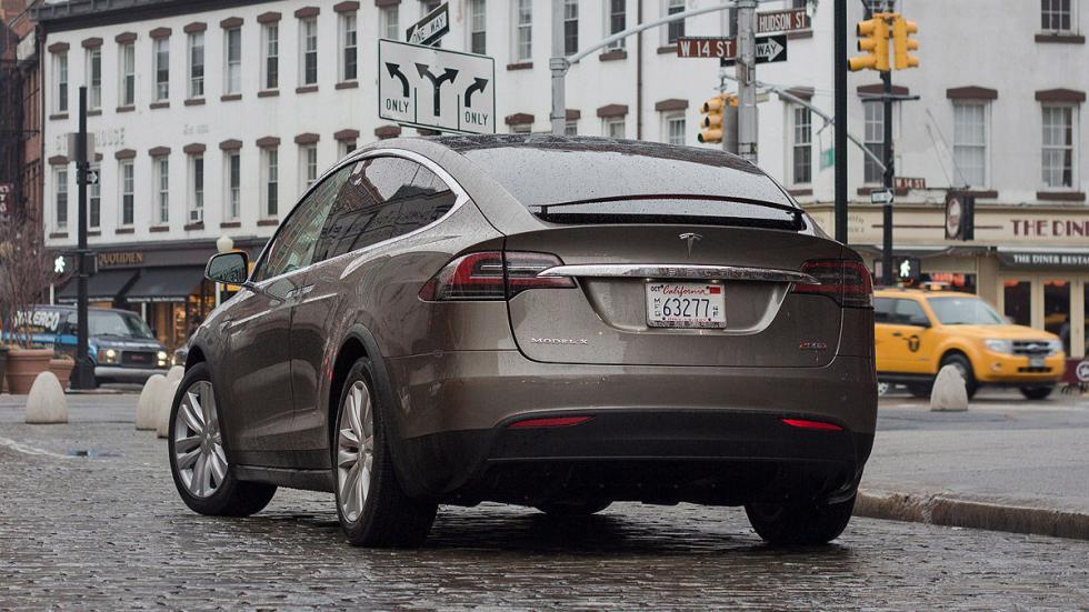 Prueba: Tesla Model X P90D 2016 zaga