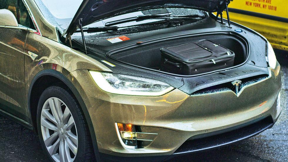 Prueba: Tesla Model X P90D 2016 motor