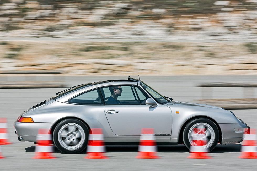 Porsche 911 Targa barrido