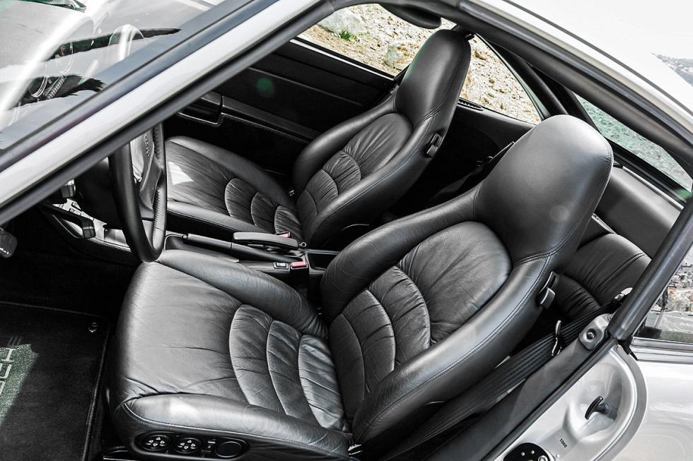 Porsche 911 Targa asientos
