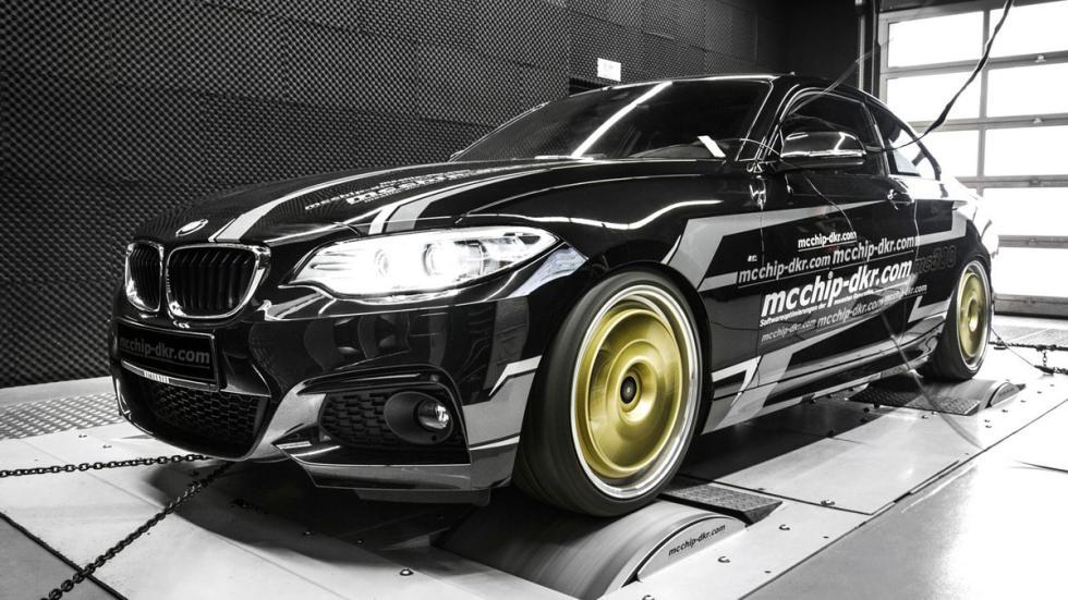 BMW 220i by mcchip-dkr dyno