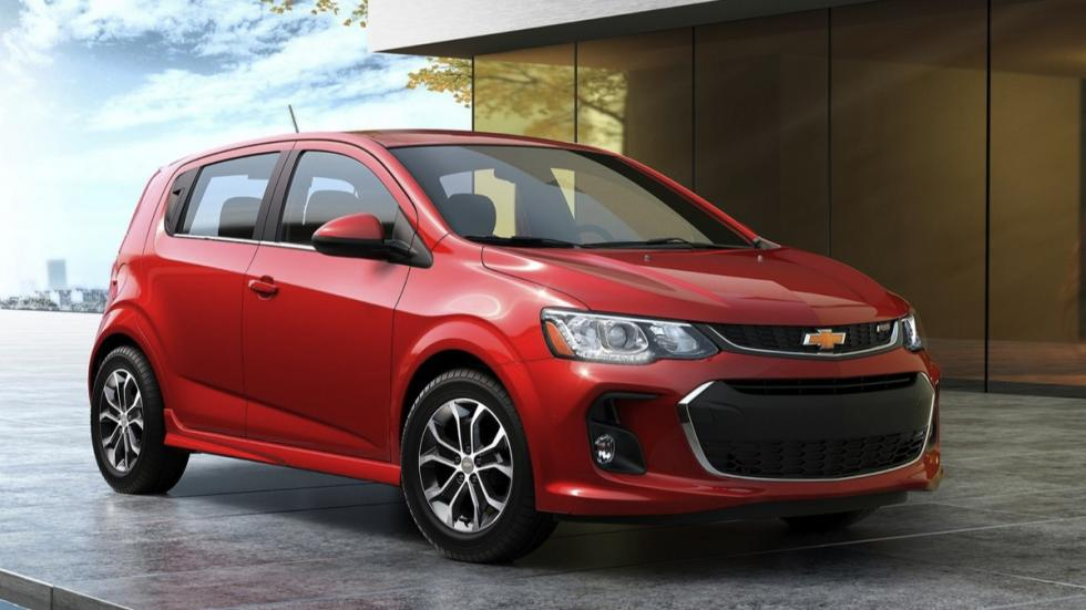 Chevrolet Sonic 2017 frontal