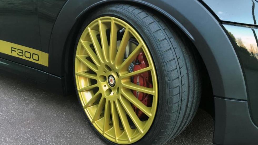 ruedas  Mini F300 Manhart