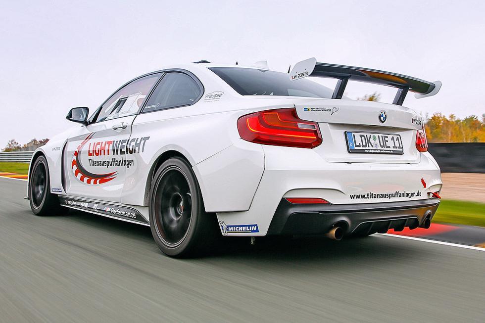 Prueba: BMW M235iR. El Serie 2 más salvaje en circuito