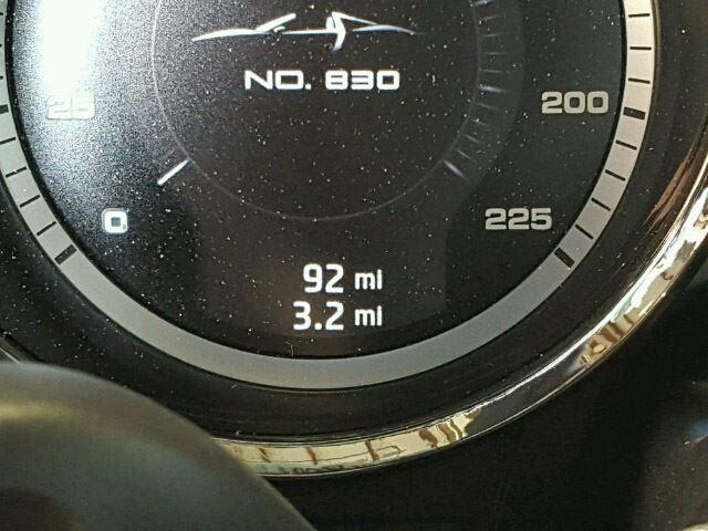 Porsche 918 Spyder detalle