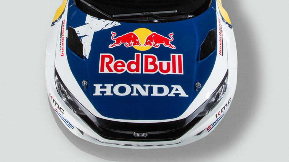 Honda Civic Coupe Red Bull GRC